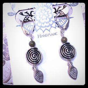 Ryolite Spiral Earrings
